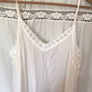 White Silk Slip Dress from Johnny Was